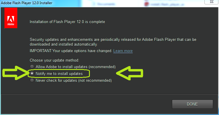 install_flash_player_dont_update_automatically_hilit
